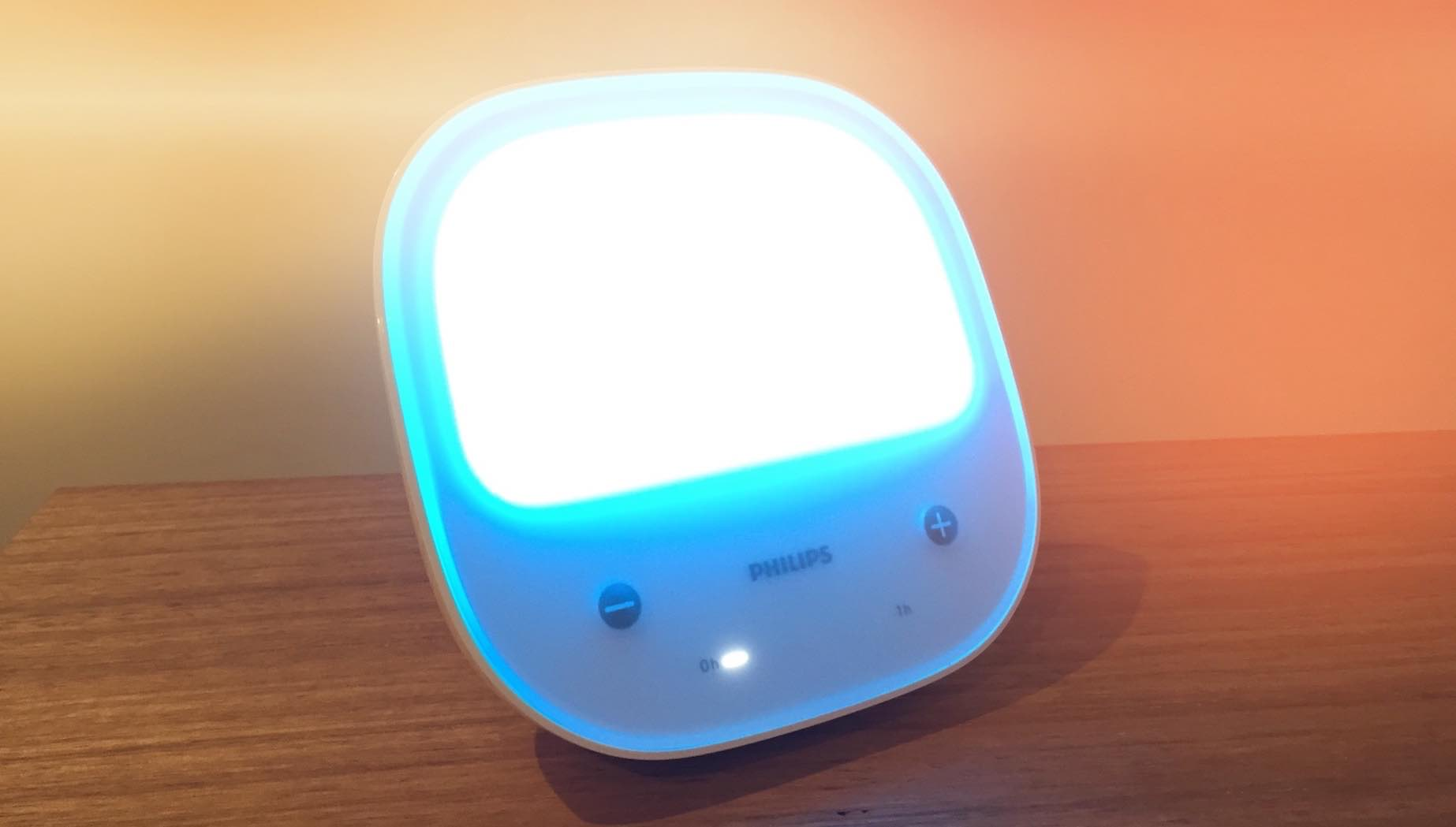Philips golite blu Blue light therapy for Circadian Rhythm Disturbances